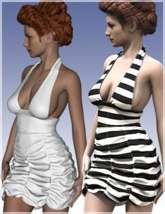 Sexy Girl Dress For Genesis 2 Female(s)
