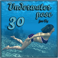 Underwater pose