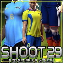 SHOOT 29: Soccer for Genesis 2 Male(s)