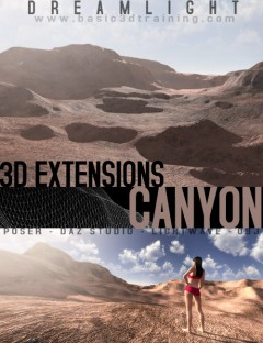 3D Extensions Canyon