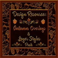 Design Resource: Autumn Overlays & Styles Pack