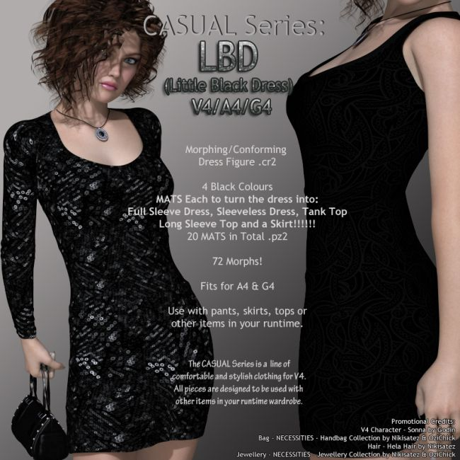 CASUAL Series: LBD V4-A4-G4