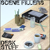 Scene Fillers - Desk Stuff