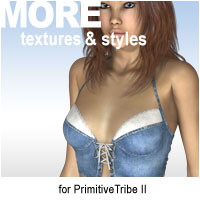 MORE Textures & Styles for PrimitiveTribe II