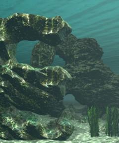 Sea Scapes: Bryce Rocks and Lattices