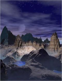 24 Fantasy Terrains for Bryce 6