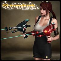 Steampunk - Laser Gun
