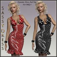 HOT Miki 4 Dynamic Sassy Dress