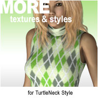 MORE Textures & Styles for TurtleNeck Style