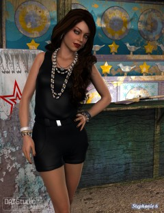 Casual Romper for Genesis 2 Female(s)