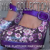 NYC Platform MaryJanes