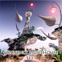 Heavenly Lighthouse Set