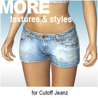 MORE Textures & Styles for Cutoff Jeanz