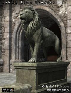 LoREZ Lion Statues