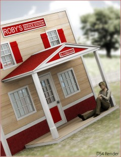 The Playhouse Collection: Roby's Service Station
