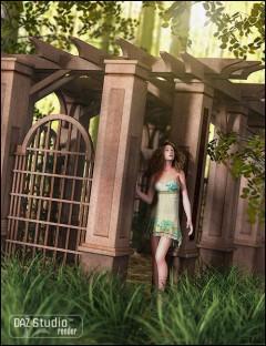Garden Escape Pergola