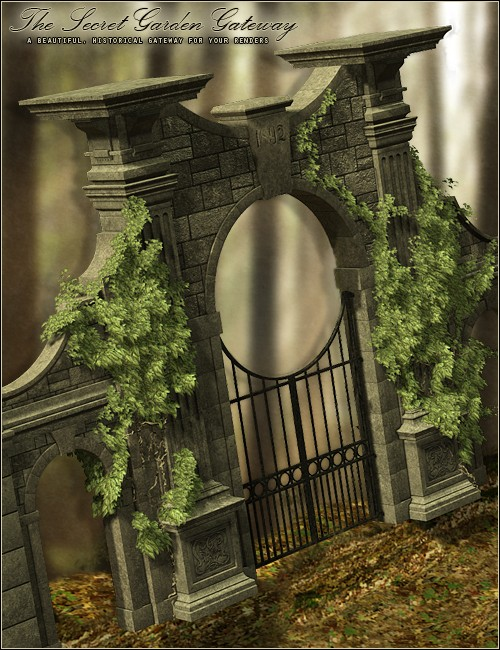 The secret garden gateway environments and props for daz for Garden gateway