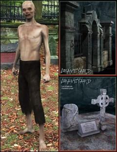 Zombie Graveyard Bundle