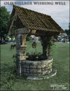 Old Village Wishing Well