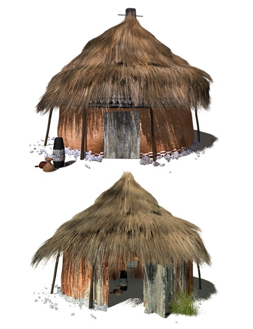 African Village Toolkit By Am Environments And Props For