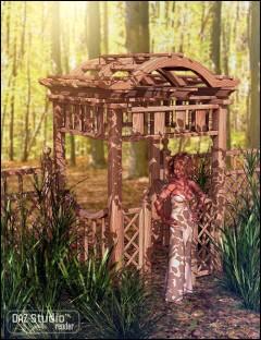Garden Escape Arbor Gate