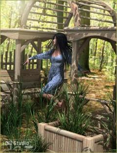 Garden Escape Arbor