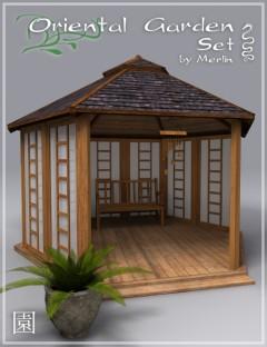 Oriental Garden Set by Merlin