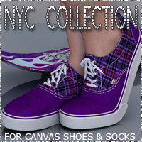 NYC for Canvas Shoes and Socks
