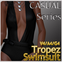 CASUAL Series: Tropez Swimsuit V4-A4-G4