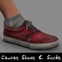 Canvas Shoes and Socks for V4