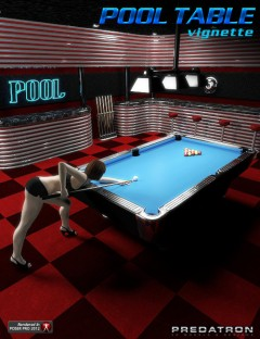 Pool Table Vignette