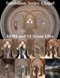 Tourbillion Chapel HDRI and Scene Files