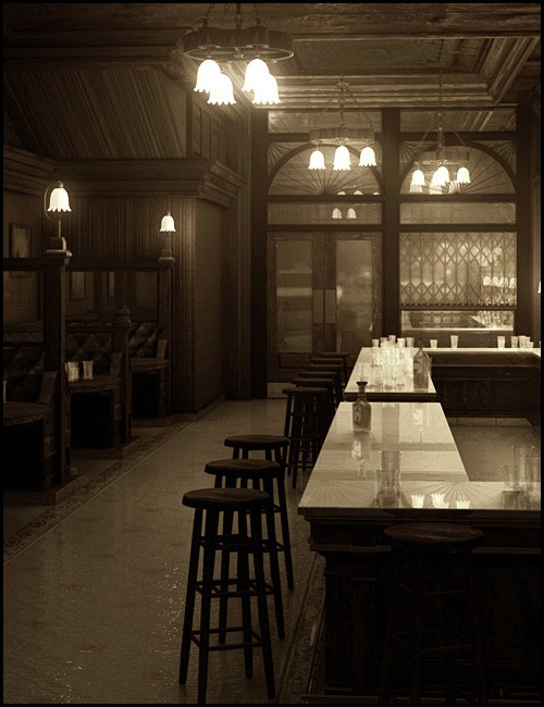 Bar Interior Environments And Props For Daz Studio And Poser