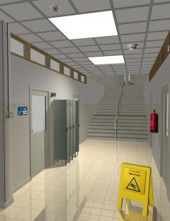 Interiors Corridors