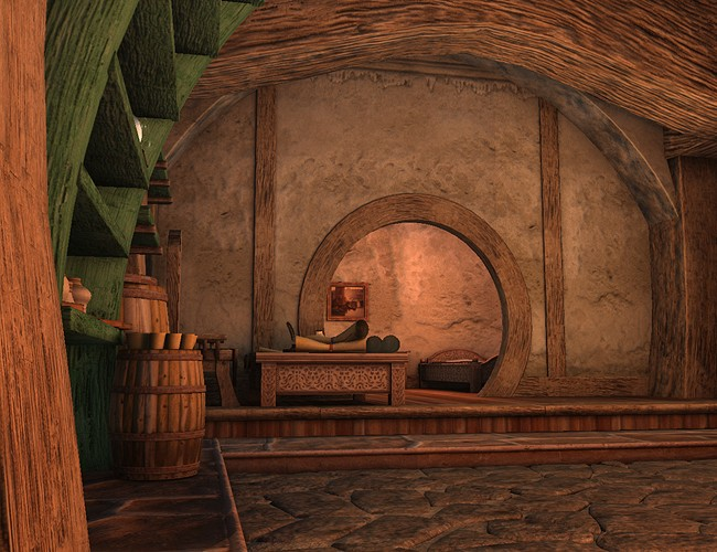 Fantasy Hovel Environments And Props For Daz Studio And