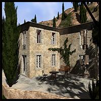 Mediterranean villa, Toscana