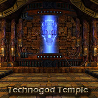 Technogod temple
