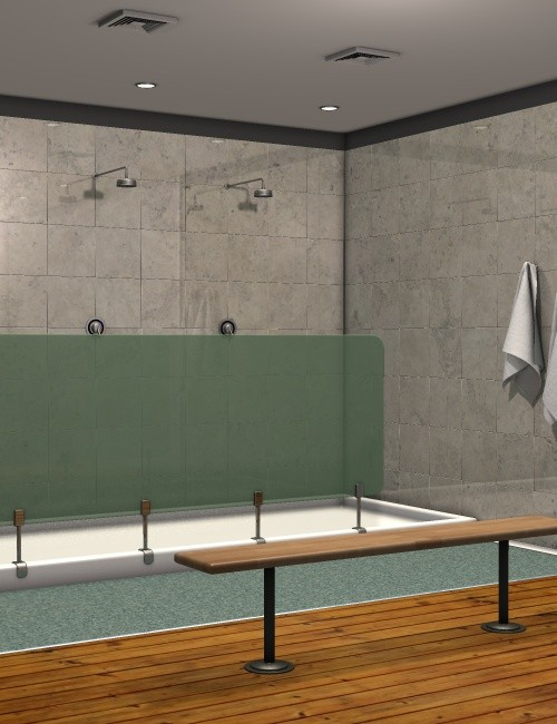 Daz Spa Changing Room