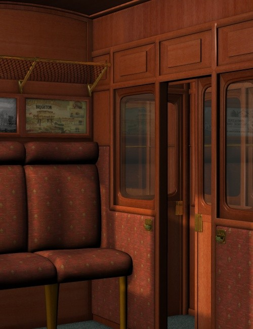 The Compartment Environments And Props For Daz Studio