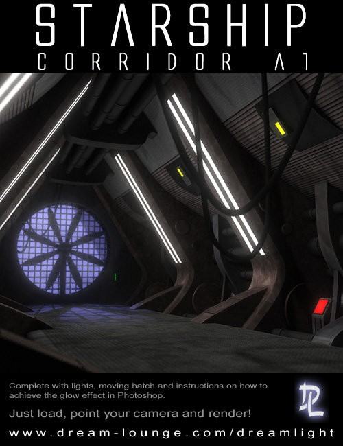 Starship Corridor A1 for DS