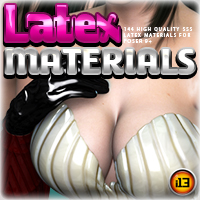 i13 LATEX materials for Poser