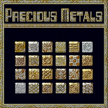 BLING! Precious Metals Layer Styles