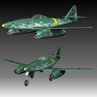 Messerschmitt Me 262 Schwalbe ( for Poser )