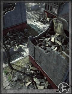 City Ruins Building 04