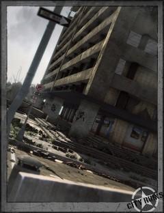 City Ruins Building 03