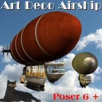 Art Deco Airship