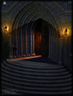 The Secret Cloister by Merlin