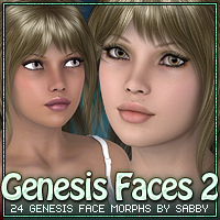 Genesis Faces 2 by Sabby