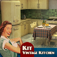 Kit Vintage Kitchen