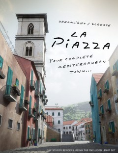 La Piazza Realistic Mediterranean Town
